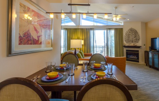 Rooms - Dining and Living Space
